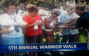warrior walk 2014